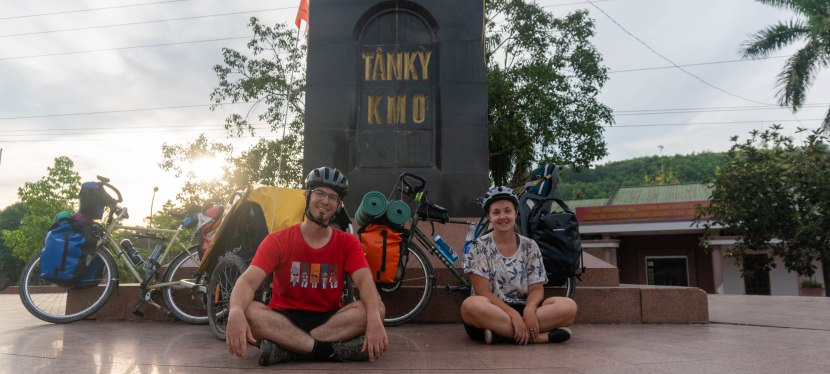 Ho Chi Minh Road – Thac May to point 0km Tam Ky