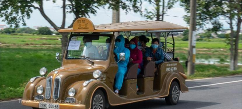 Get In, we're going quarantining. Lockdown in Hoi An.