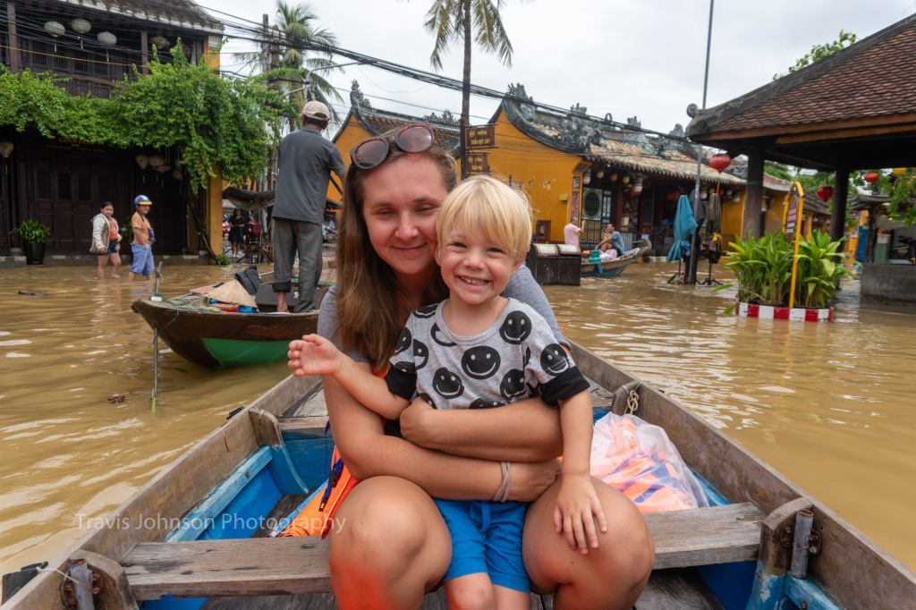 Extra lanes were added to the Hoi An Boat rides.